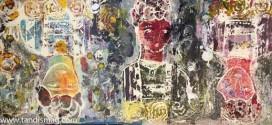 نمایشگاه گروهی نقاشی هنرجویان سارا جعفری