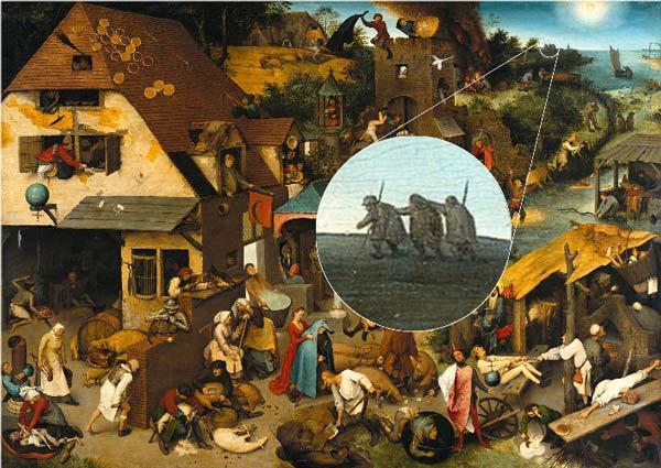 هنر نقاشی پیتر بروگل