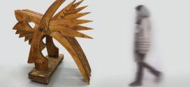 مجسمه های چوبی