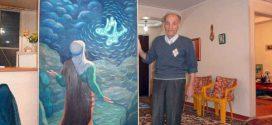 نقاش استاد عبدالله عامری