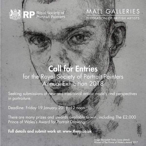 فراخوان انجمن رویال هنرمندان نقاش پرتره لندن
