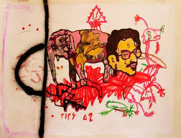 نمایشگاه نقاشی زرتشت رحيمى