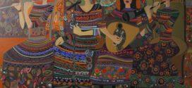 سونات صلح نمایشگاه نقاشی سونا عبدالعظیم زاده