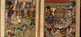 نسخه خطی جامع التواریخ یا تاریخ رشیدی در کاخ گلستان