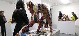 مجسمه رنگ و رینگ سپیده نوری گالری اعتماد