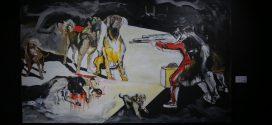 نقاشی محجوب ظهوریان پردل گالری ثالث