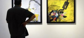 نقاشی ندا راهی حق به شهر گالری خط سفید