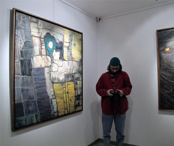 نمایشگاه نقاشی آرش امدادیان گالری آتبین