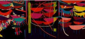 چرخه سپید نمایشگاه گروهی چیدمان و نقاشی در گالری طراحان آزاد
