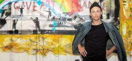 هنرمندان جوان آنتونی لیستر گرافیتی