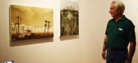 نمایشگاه بوی بادام در خانه هنرمندان ایران
