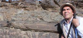 دکتر محمد ناصری فرد باستان شناس سنگ نگارههای کهن