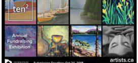فراخوان نمایشگاه Ten Squared فدراسیون هنرمندان کانادایی