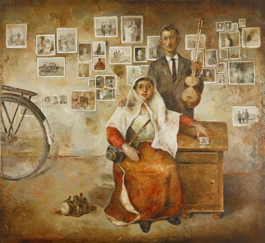 نقاشیهای داوود زندیان گالری ایران شهر
