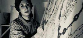 فریناز نصیرپور گالری دیلمان روایت بافت لکه ها