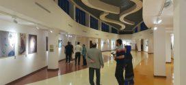 نقاشان خوزستانی در موزه خلیج فارس کیش