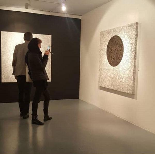 نمایشگاه علی رضوی در گالری فرشته