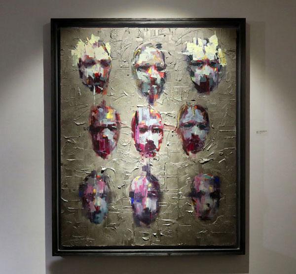 نمایشگاه علیرضا اسانلو در گالری شیرین