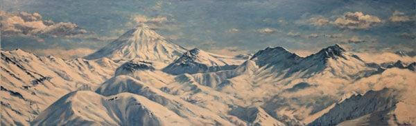 نمایشگاه نقاشی فرید جهانگیر در گالری ایرانشهر