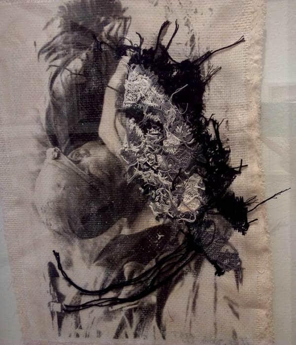 نشست آثار مونا جولا گالری صا
