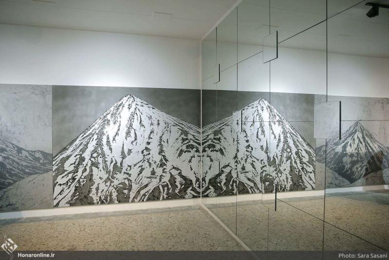 «کوه کوه است» مصطفی فرجآبادی گالری اُ