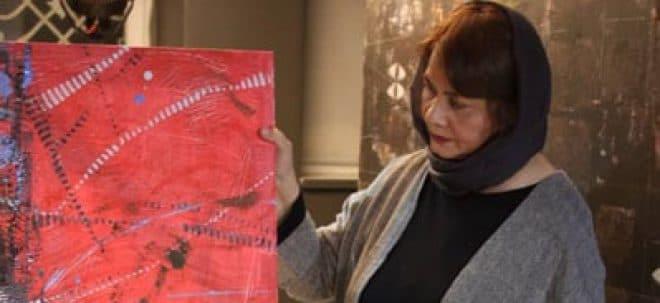 اجرای زنده نقاشی در گالری صا