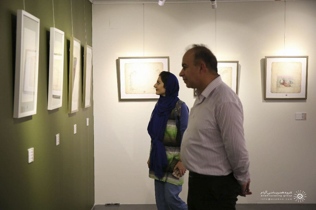 سالاد کامبیز درمبخش و سهیل حسینی گالری دیلمان