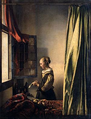 Johannes Vermeer   Girl Reading a Letter by an Open Window   Google Art Project