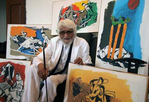 هنر هند مقبول فدا حسین