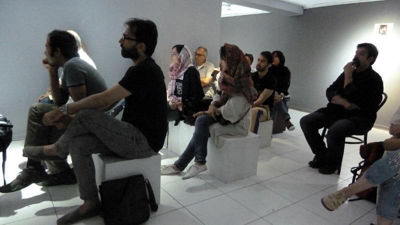 نشست جاوید رمضانی در نگارخانه صا
