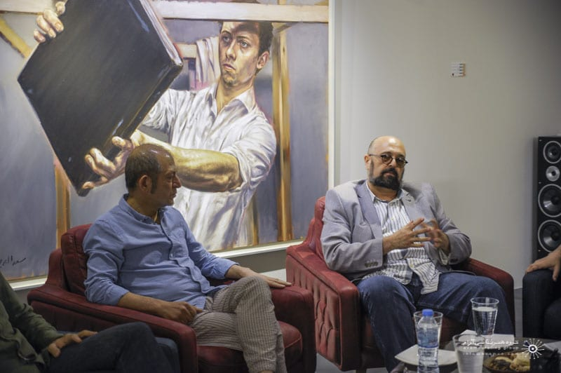 masoud sadedin deilaman gallery critic meeting 7