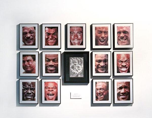 نقد نمایشگاه نوگل مظلومی