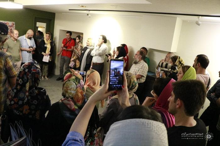 نمایشگاه مسعود سعدالدین در گالری دیلمان