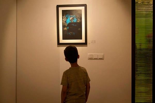نمایشگاه شهاب سلیمیان در گالری شمیده