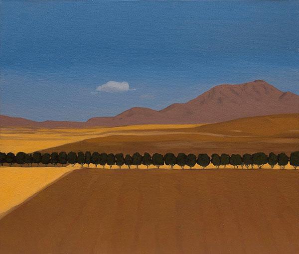 نمایشگاه ساسان نصیری گالری ایرانشهر
