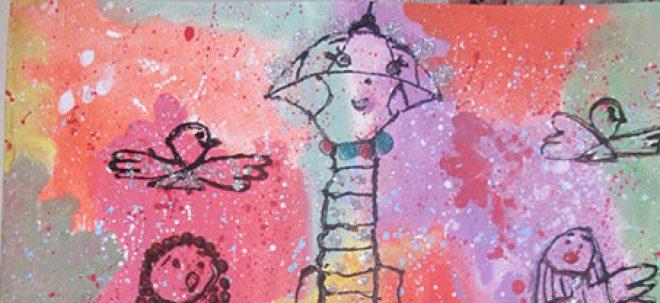 نمایشگاه نقاشی کودکان افسون لاشایی
