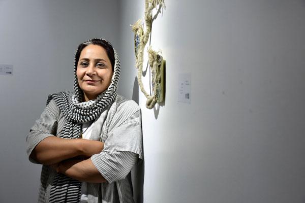 نمایشگاه فریبا بروفر در گالری ثالث