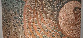 نمایشگاه نقاشیخط شمس اله ساعدی