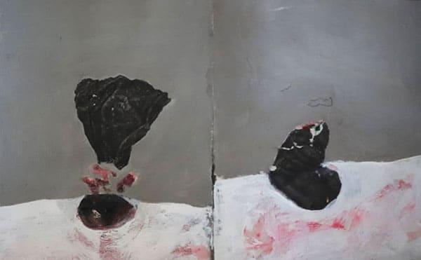 نمایشگاه سعیده حاتمی گالری والی