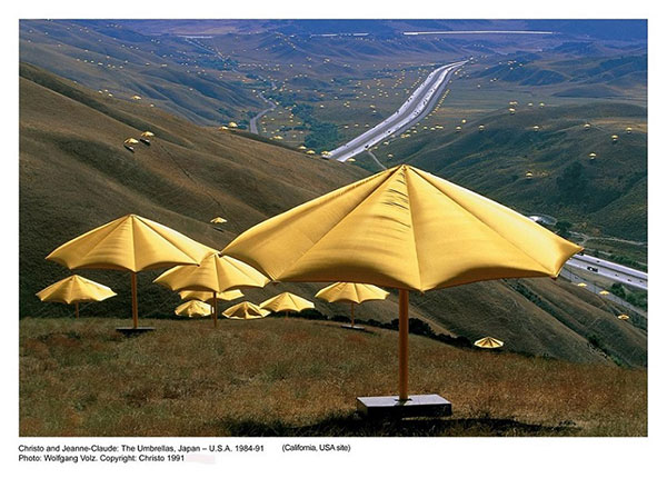 Christo and Jeanne Claude 1