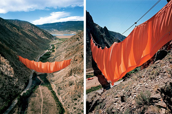 Christo and Jeanne Claude 13