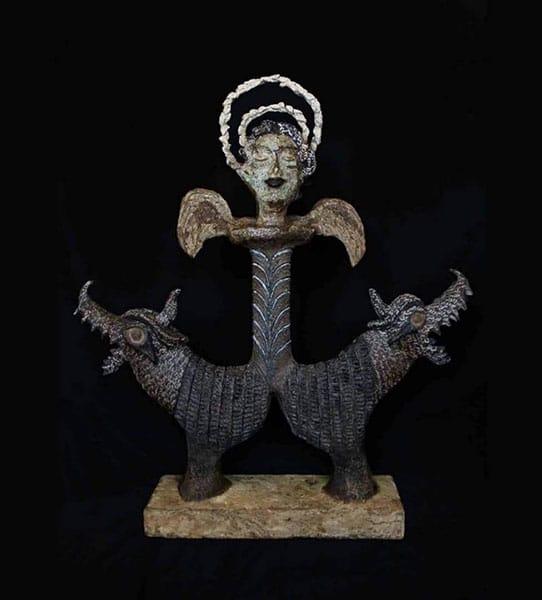 نمایشگاه آثار الهه کشاورز در گالری الهه