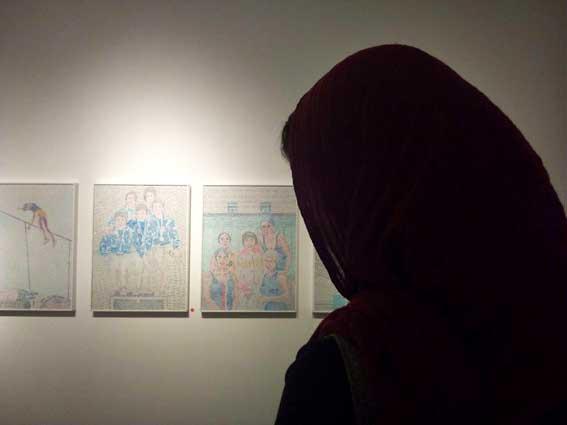 نمایشگاه محمدرضا میرزایی گالری طراحان آزاد