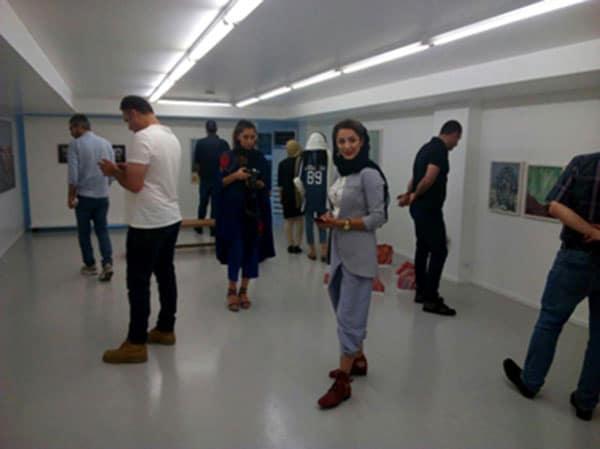 نمایشگاه سعیده حاتمی در گالری والی