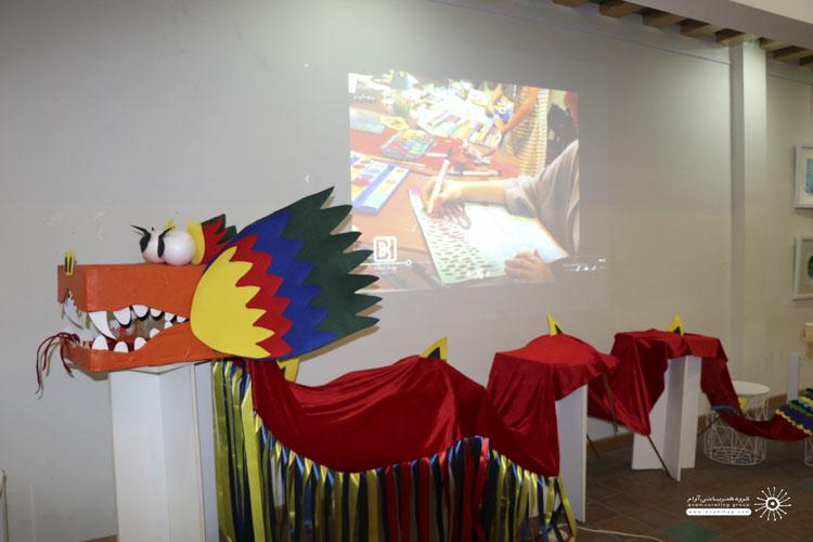 خلاقیت در آموزش نمایشگاه هنرجویان بهار ایده