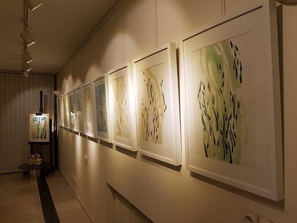 نمایشگاه نقاشی مصطفی ندرلو