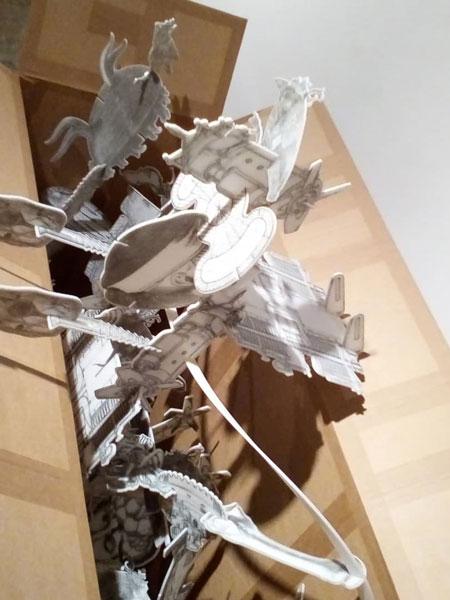 نمایشگاه امیرنصر کم گویان در گالری محسن