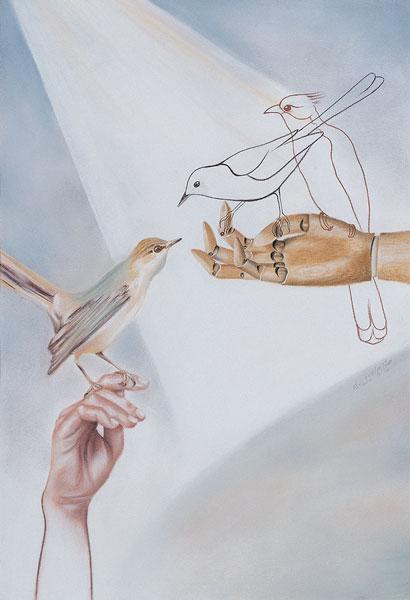 نمایشگاه آثار میترا ابراهیمی به قلم محمد شمخانی