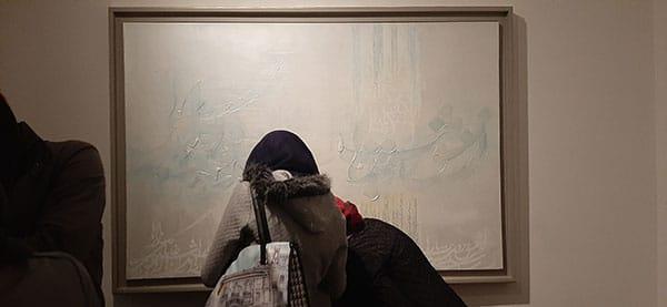 نقد نمایشگاه عینالدین صادق زاده