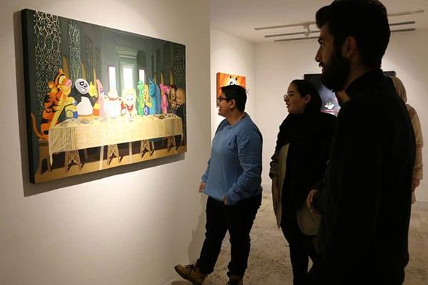 گزارش نمایشگاه امیر عباسی در گالری ژاله